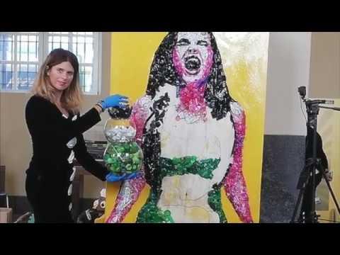 Riciclo artistico con Lady Be