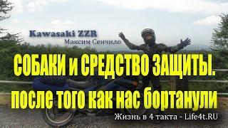 Собаки и Шокер. Гуманная защита от собак.(Задавай вопросы на форуме мотоциклистов http://nabaike.ru/ http://www.life4t.ru/ - Жизнь в 4 такта. Мотопутешествия. Буквально..., 2015-04-10T17:35:19.000Z)