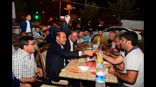 Başkan Sözlü Sahurunu Yol Şube Çalışanları ile Yaptı