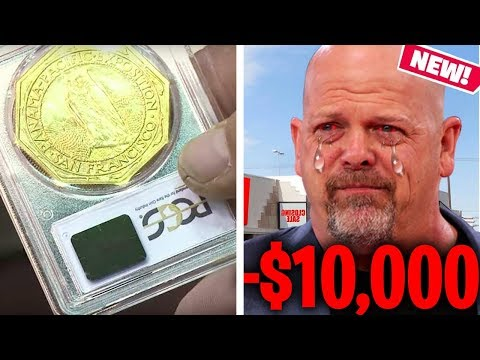 RICK PURCHASES A STOLEN GOLD COIN AND PAYS THE CONSEQUENCES! 😨 (Pawn Stars)