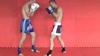 Kickbox trénink