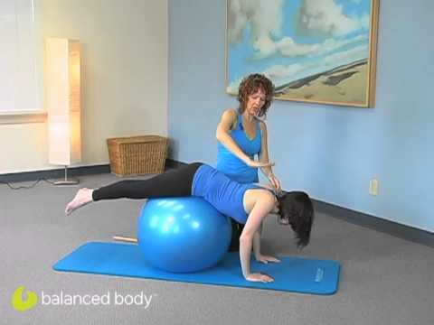 Pilates Enthusiasts: S2E20: Exercise Ball for Pike