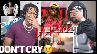 RIP XXX 🙏🏽 | Lil Wayne - Don't Cry ft. XXXTENTACION | REACTION