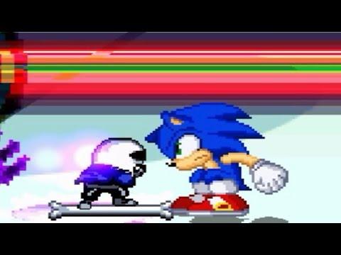 Sonic versus MUGEN Characters