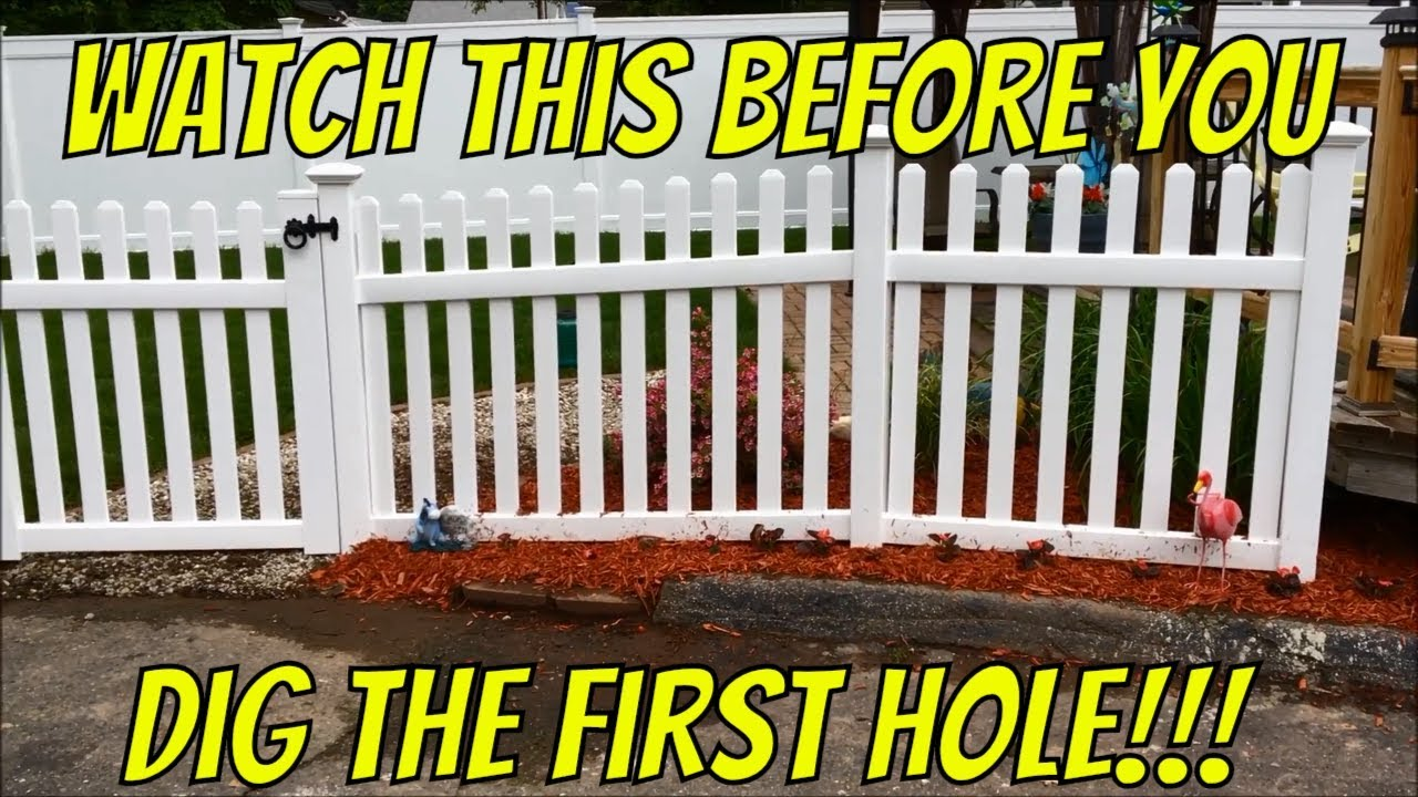 How To Install A Vinyl Fence Up Slope Or Hill And Around Curve