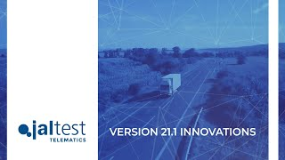 JALTEST TELEMATICS | Software innovations 21.1