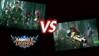 Full movie Tigreal,  Roger vs Nana,  Freya - Mobile Legends