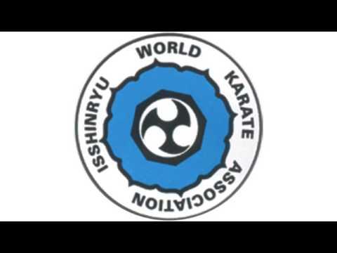 Isshinryu World Karate Association Patch English