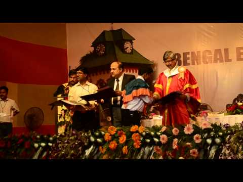 16th Annual Convocation of Bengal Engineering & Science University, Shibpur, 2014 - Part 9