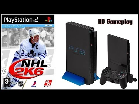 NHL 2K6 (PS2)(2005) Intro + Gameplay (HD) Tampa Bay Lightning V Anaheim Mighty Ducks