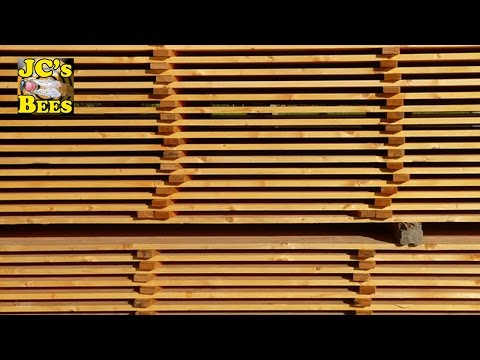 Proper way to Dry Green Lumber