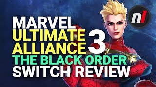 Marvel Ultimate Alliance 3: The Black Order Nintendo Switch Review - Is It Worth It?