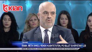 Rama: Meta shkeli rende Kushtetuten, po sillet si kryetar i LSI