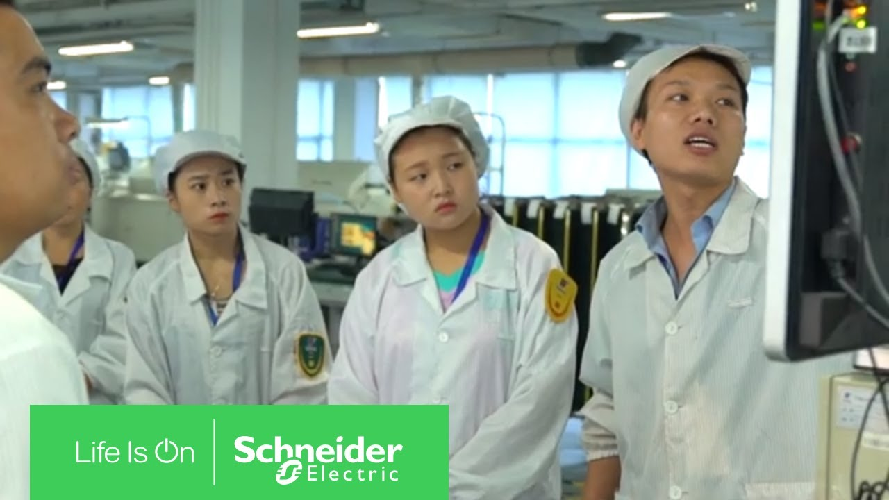 Stepping Forward to Digital Transformation with Schneider Electric EcoStruxure Plant