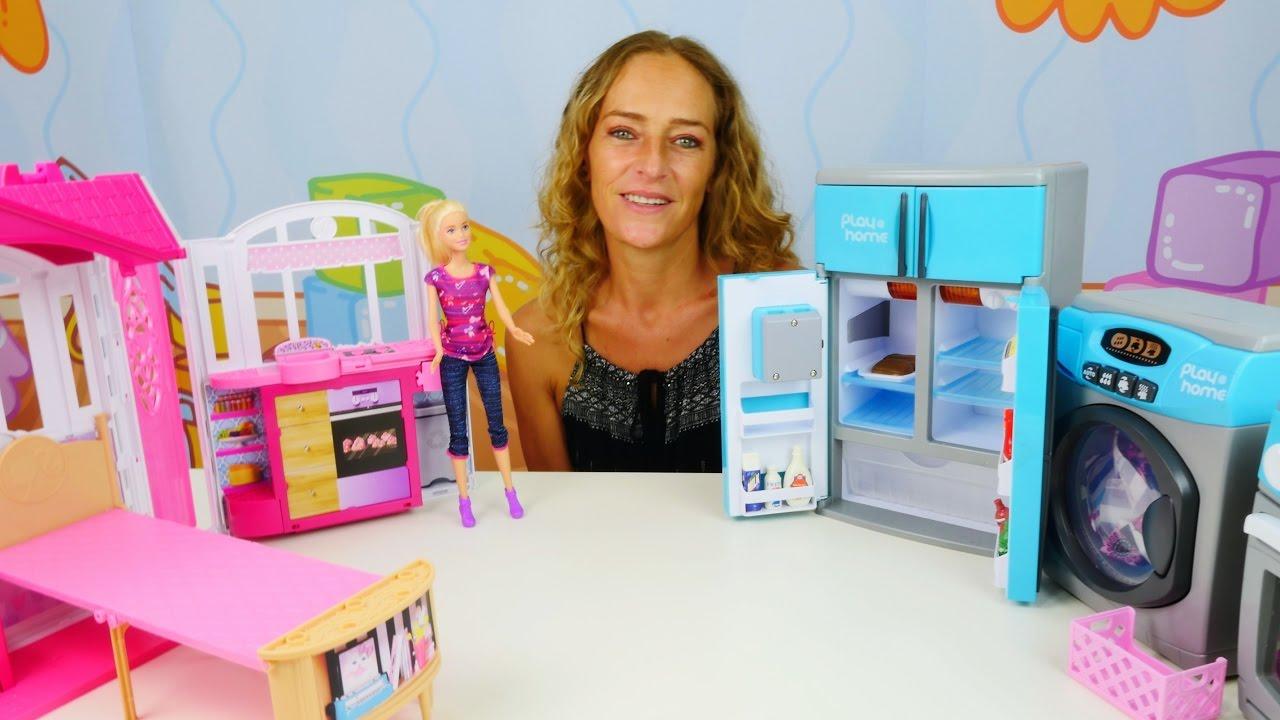 barbie braucht hilfe im haushalt video f r kinder youtube. Black Bedroom Furniture Sets. Home Design Ideas
