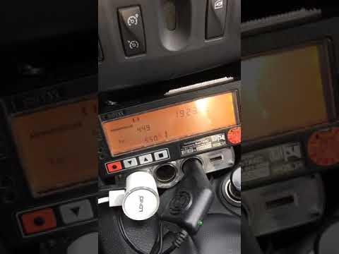 Как закрыть смену в таксометре