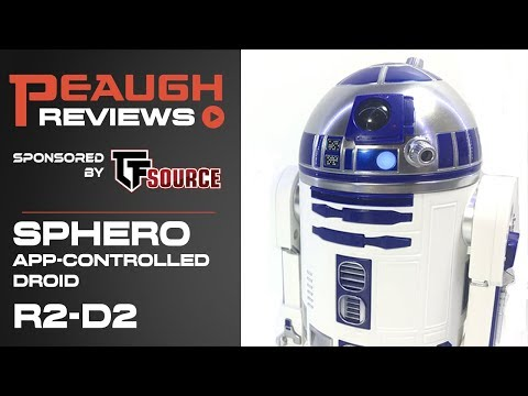 Video Review: Sphero Star Wars App-Controlled Droid - R2-D2