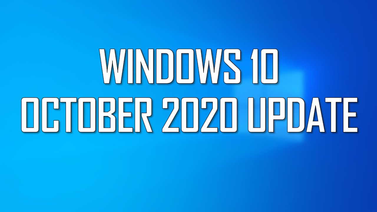 Windows 10 October 2020 Update Now Available in the Release Preview Channel!