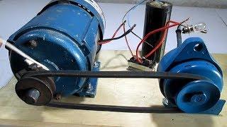 Free Energy Generator How To Make Self Running Free Energy Generator Ac Generator And Dc Motor
