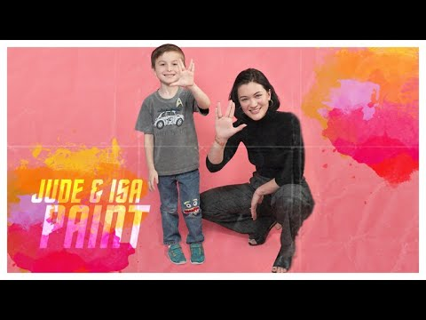 Jude Hosts a Paint-Date With Isa Briones   Star Trek