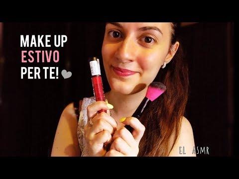 ★ASMR italiano★ MAKE UP ESTIVO per Te!♥ /Make up Artist Roleplay/
