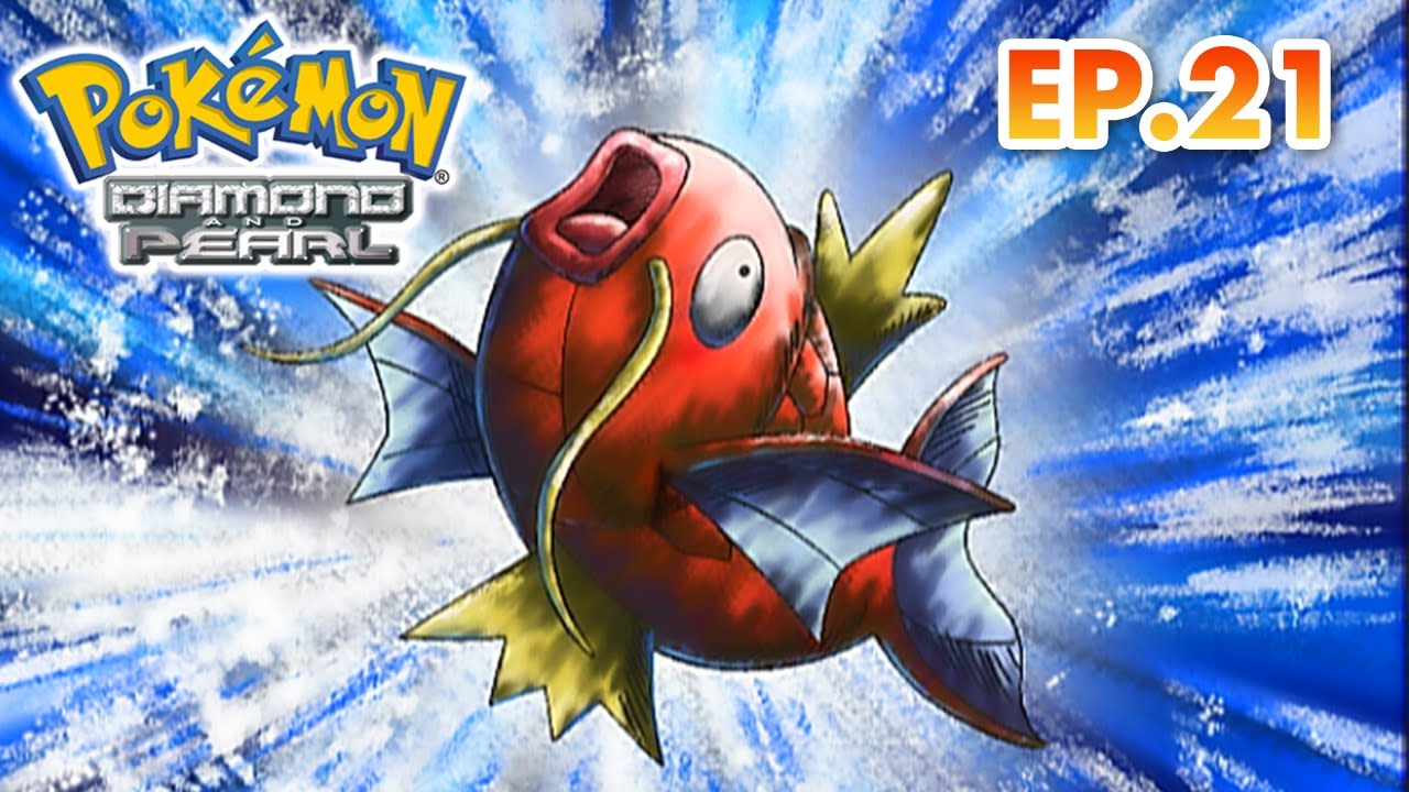 Pokémon Diamond and Pearl | EP21 | Ya See We Want An Evolution! | Pokémon Asia ENG