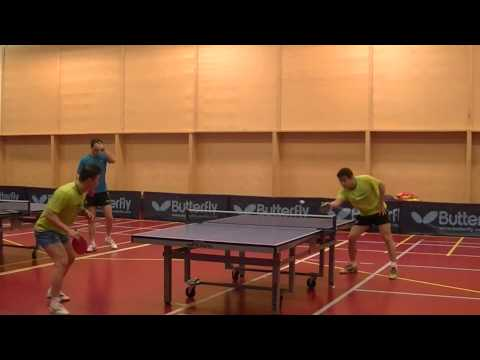 Wang Hao and Ma Lin training (rare footage!)