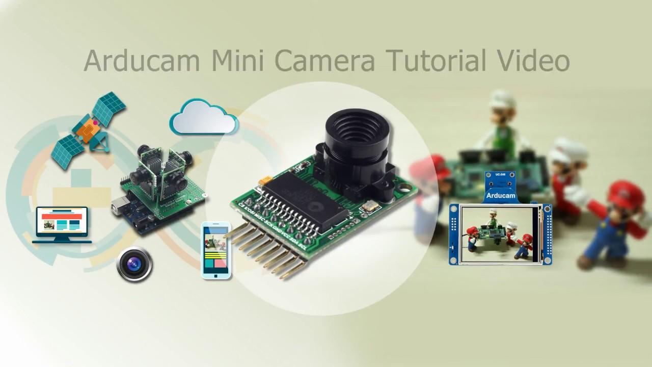 Arducam 2MP mini camera for Arduino tutorial 2018