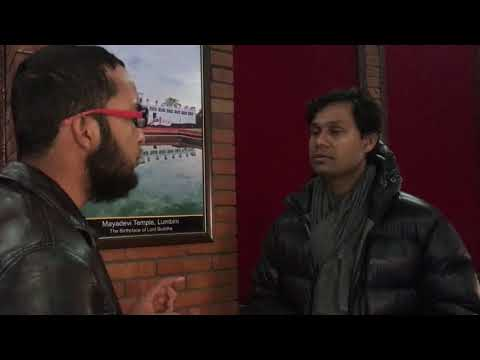"""Why is """"subject matter"""" important in a film making? Director of """"White Sun"""" Deepak Rauniyar says..."""