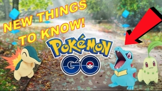 10 Things You Need to Know About Pokemon Go! Pokemon Go Updates, Easter Eggs, Gen 2 Gameplay Tips!
