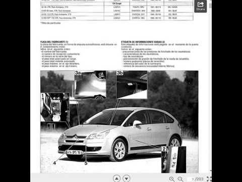 descargar gratis manual de taller motor 1 6i y 1 6hdi c4 youtube rh youtube com download manual c3 citroen pdf descargar manual de taller citroen c3