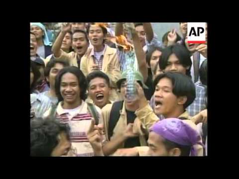 INDONESIA: JAKARTA: PROTESTS OUTSIDE AUSTRALIAN EMBASSY