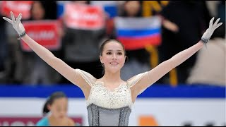 ALINA ZAGITOVA SP World Championship with rus eng sub tdp КП с испанскими комментариями