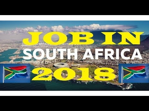HOW TO APPLY JOB IN SOUTH AFRICA // 2018 // LATEST JOBS IN SOUTH AFRICA