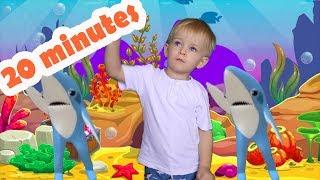Nursery Rhymes song for Children, Baby Shark - 20 Minutes Best kids songs