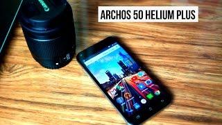Archos 50 Helium Plus: распаковка и первый взгляд.