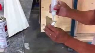Best Instant Wood Adhesive: MDF Super Adhesive. How To Glue Moulding.