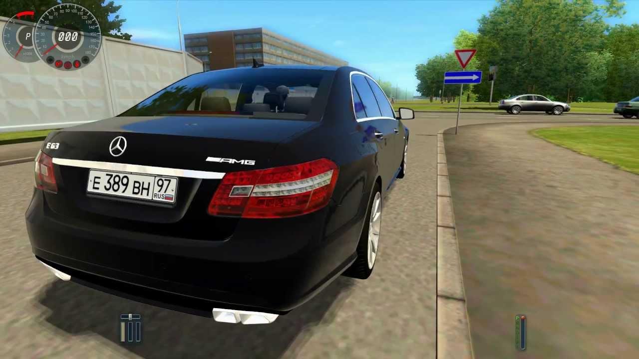 City Car Driving 1 2 5 Trackir Mercedes Benz E63 Amg Hd 1080p You