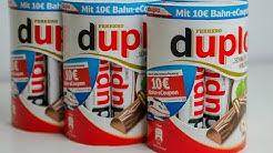 Hanuta & Duplo: 10 Euro Bahn-Gutschein einlösen
