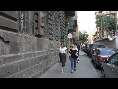 Yerevan, 10.06.18, Su, Video-2, (на рус.), улицы Кохбаци-Пушкина