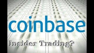 Insider Trading at Coinbase?