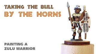 Video Taking the bull by the horns: painting a Zulu warrior download MP3, 3GP, MP4, WEBM, AVI, FLV Agustus 2018