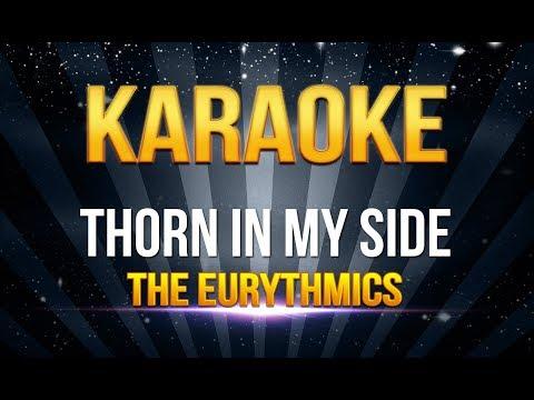 The Eurythmics  Thorn In My Side KARAOKE
