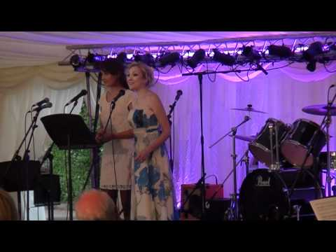 Laura Wright and Christina Johnston Flower duet