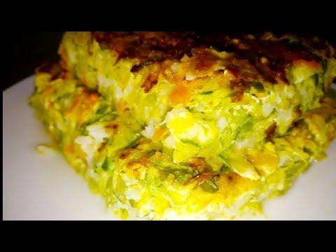 receta de torta de zapallitos verdes