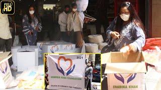 Bollywood Choreographer Shabina Khan sends out food packets to the needy amid  Lockdown \u0026 Covid-19