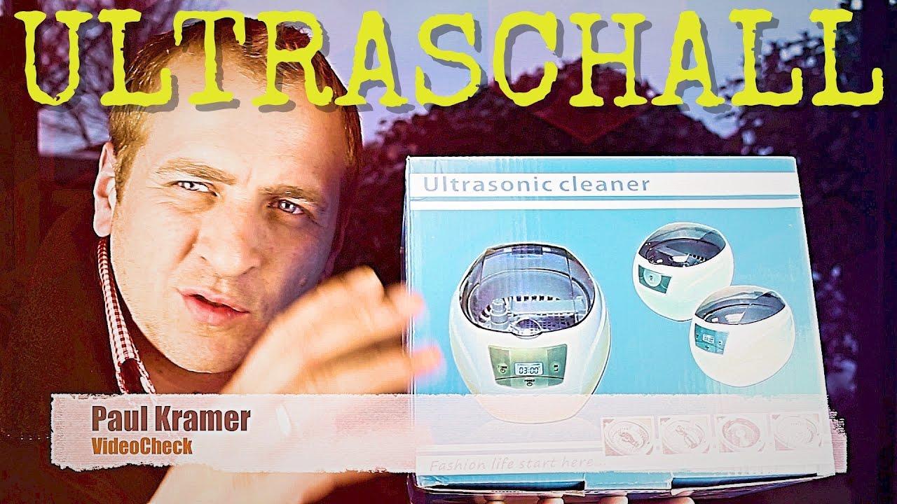 Ultraschall reinigungsgerät test