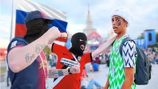 I Flew To Russia And Met CRAZY Football Fans