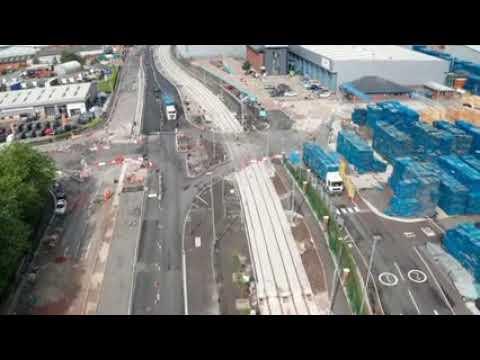 Trafford Park Line: August Drone Flight
