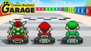 Mario Kart Recreated in Game Builder Garage